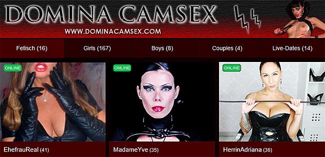 Cam Sex Erziehung mit Dominas